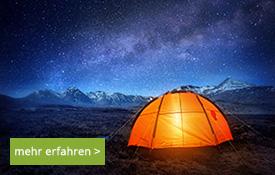 Unterwegs - Zelte